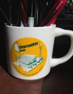 1978 Clearwater bureau mug