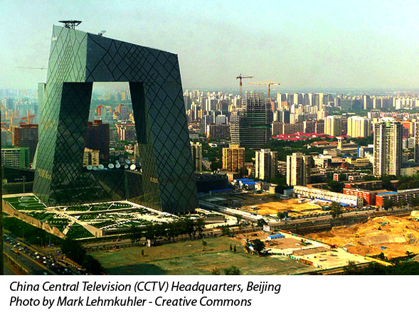 China Central Television -- Rem Koolhaas