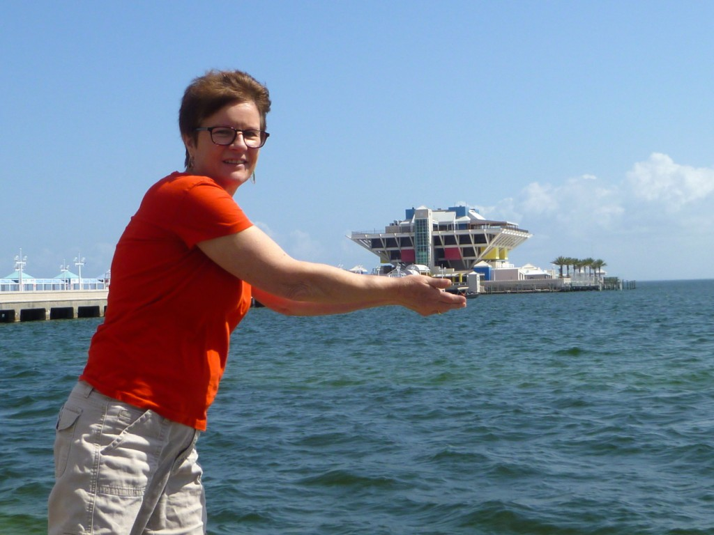 kyle holding pier