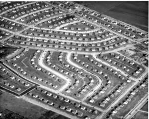 Levittown - Nassau County - New York.1949 Photo Credit - Levittown Public Library