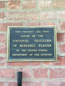 Plaque on Historic Place Catskill House