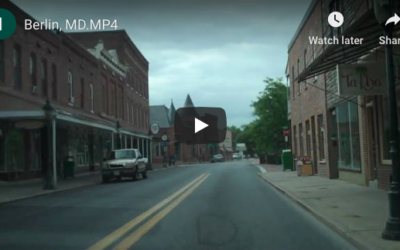 Berlin, MD: colonial town alive & thriving