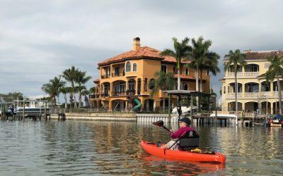 Developing a knack for kayaking